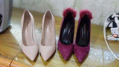 gorgeous 鞋,左邊珍珠米色 36 高雄市