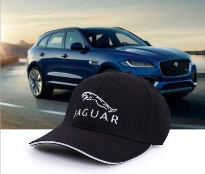 Jaguar捷豹改裝個性裝扮休閒帽子鴨舌帽  男女遮陽帽太陽帽防曬帽跑步帽棒球帽 戶外運動遮陽帽