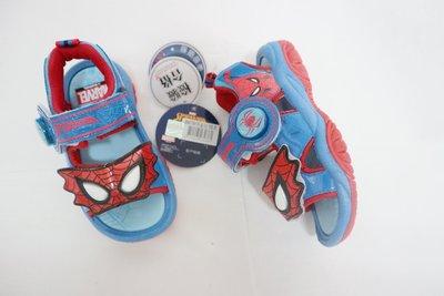 409*㊣品MNKT蜘蛛人 多功能舒適涼鞋 電燈鞋【99176】藍色 16~21號 台灣製