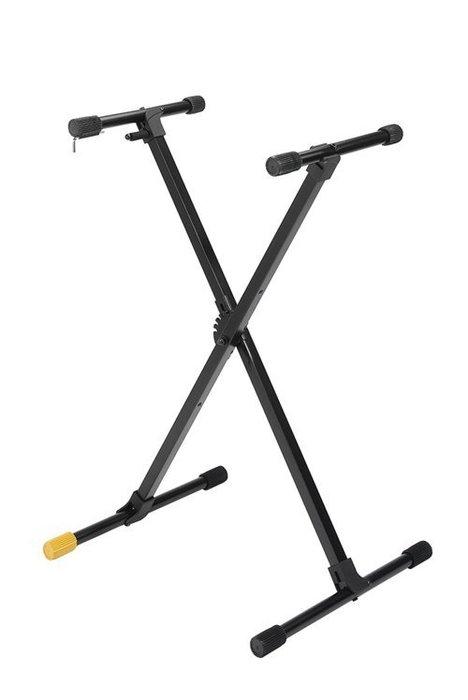 《民風樂府》HERCULES KS118B X型攜帶鍵盤架  附攜行袋全新品公司貨