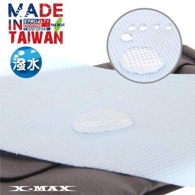 ~排汗王~X-MAX~MIT-口罩-超撥水藍色PP濾材(20片一包~透氣~防潑水~