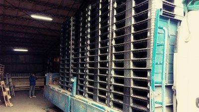 二手棧板/塑膠棧板/中古棧板 尺寸: 1 0 9 x 9 2 cm  .  倉儲 露營 裝櫃 上下貨好用