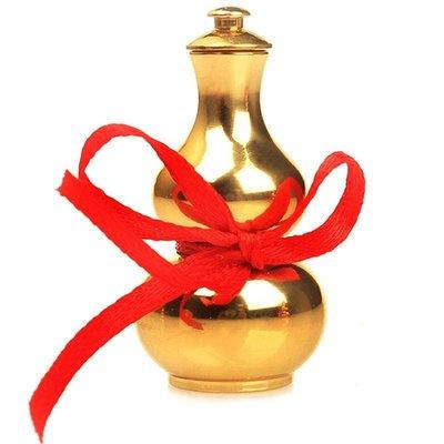 哈嘍小鋪 銅葫蘆家居風水擺件小掛件開蓋葫蘆銅工藝品開口葫蘆