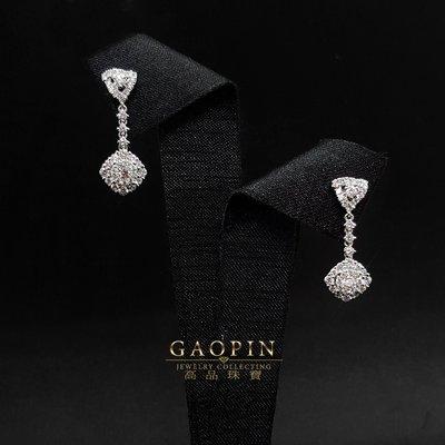 【高品珠寶】設計款鑽石耳環-UE00990A-399669