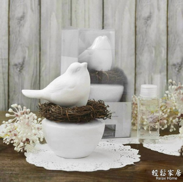 ⚡輕鬆家居⚡天然手工鳥巢擴香香氛精油 室內薰香套裝組