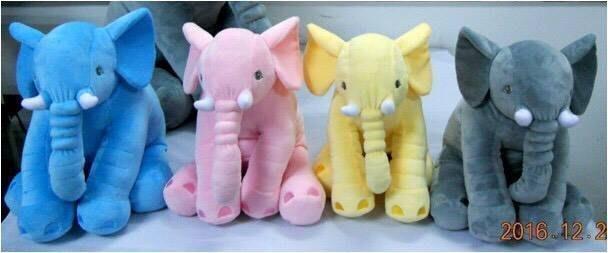 可愛大象長抱枕~嬰兒安撫玩具 寶寶護頭/車上頸靠/彌月禮物 安撫娃娃 小象娃娃~~大象娃娃.抱枕
