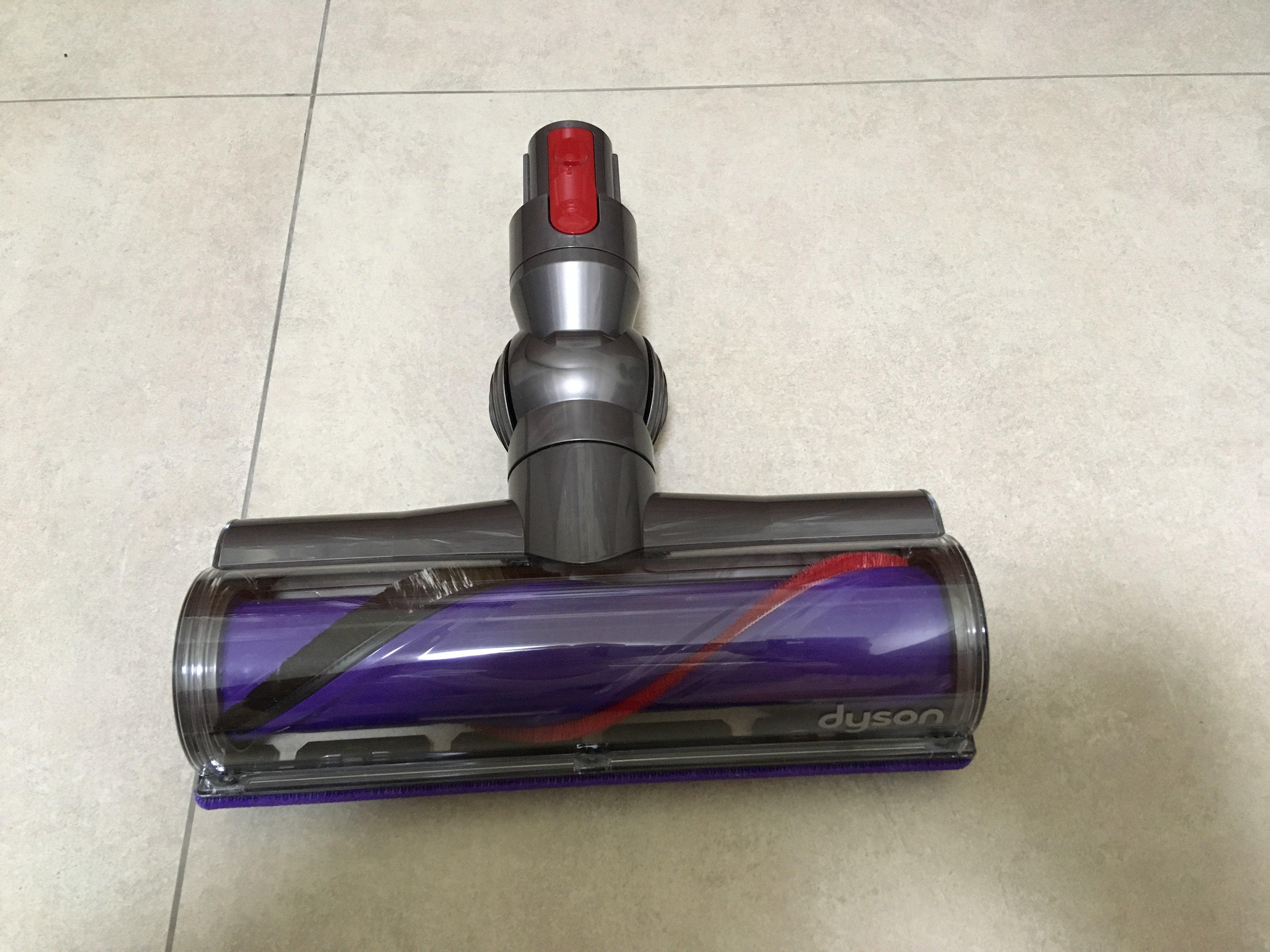 Dyson V7 V8 V10 高扭矩吸頭 Motorhead 碳纖維 毛刷吸頭 (50W)