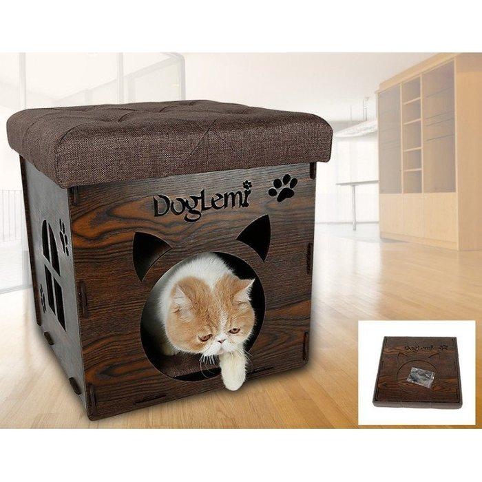 創意貓窩可拆洗寵物窩貓房子貓屋收納窩貓籠凳子四季寵物用品貓床