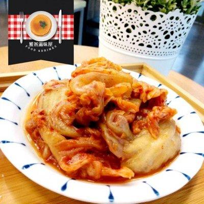 『原點小農』雅爸滋味屋-雅爸手做韓式泡菜(罐裝) 500g±5%