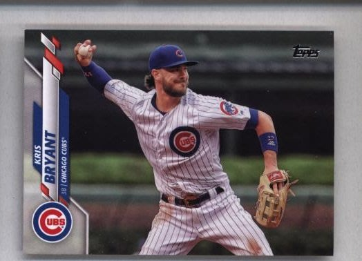 2020 Topps Series 2 #455 Kris Bryant - Chicago Cubs