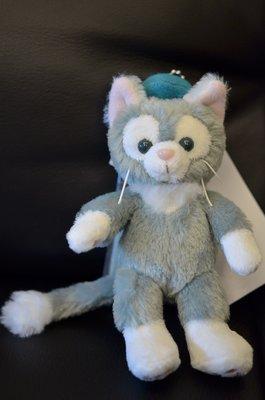 尼德斯Nydus~* 日本 東京迪士尼海洋限定 達菲熊 Gelatoni 傑拉托尼 畫家貓 玩偶 吊飾 站姿