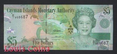 【Louis Coins】B765-CAYMAN ISLANDS--2010 開曼群島紙幣5 Dollars