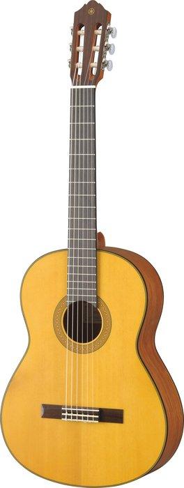 造韻樂器音響- JU-MUSIC - 全新 YAMAHA CG122MS 古典吉他