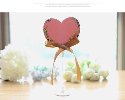 創意婚禮用品 席位卡 桌卡 桌牌 簽到台 婚慶用品道具 10號款