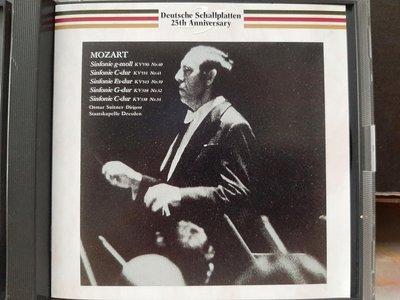 Suitner,Mozart-Sym No.32,34,39,40&41舒特納指揮德勒斯登大教堂樂團,演繹莫扎特-第32,34,39,40&41號交響曲,日本版