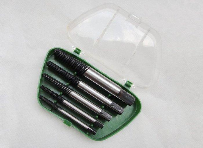 全新  威力獅  斷頭螺絲取出器 滑牙螺絲取出器 5件