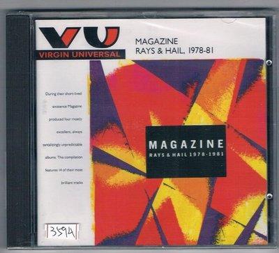 [鑫隆音樂]西洋CD-MAGAZINE .PAYS&HAIL, 78-81精選 (077778795926)全新/免競標