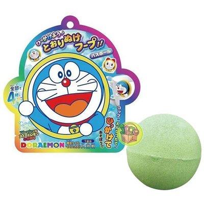 【JPGO】日本進口 哆啦A夢系列 入浴驚喜球沐浴球 隨機出貨#630