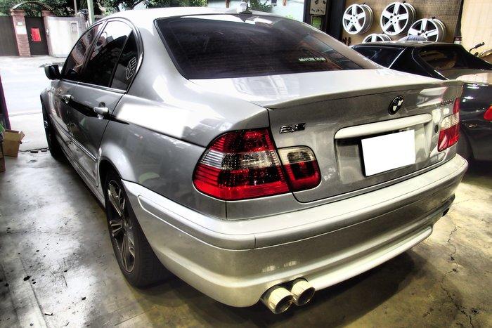 DJD19080701 BMW E46 98 99 00 01 02 03 04 05年 M-TECH樣式 後保桿
