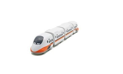 TRAIL 鐵支路 Q版 迴力小列車 台灣高鐵700T QV004T1