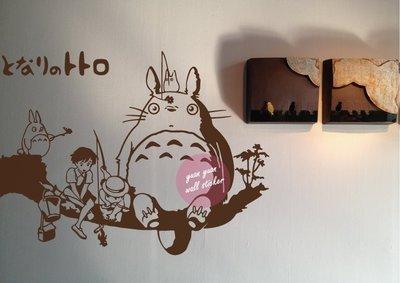 【源遠】Totoro龍貓一起玩樂版【CT-25】壁貼 宮崎駿 大師 設計 壁貼 壁紙 吉卜力工作室 動畫電影 居家 風格