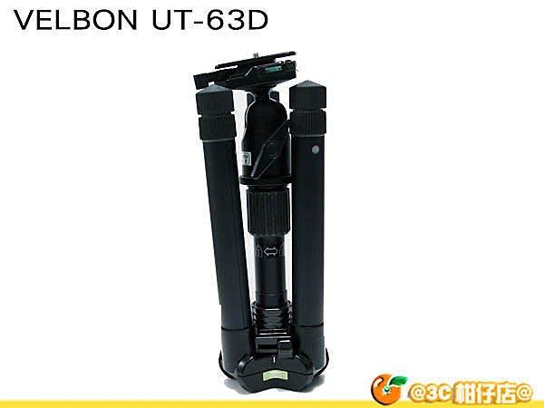 @3C 柑仔店@ VELBON UT-63D UT63D 反折腳架 UT63D 相機 雲台 超輕量 公司貨5年保