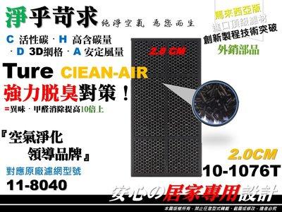 【HEPA】外銷品 Amway 安麗 第二代 2代 101076-T 11-8040 20mm 活性碳 濾網 空氣清淨機