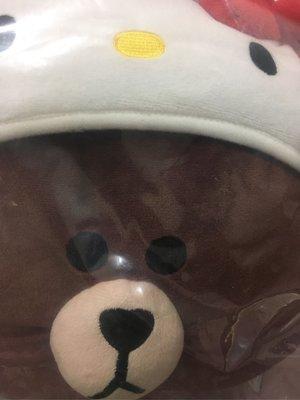 7-11熊大kitty款絨毛玩偶單一款~另有賣Le creuset x Hello Kitty超玩美時尚鑄鐵鍋