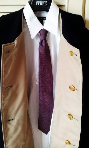 Burberry雙面穿羊毛長大衣(深藍色純羊毛/駝色厚質純綿)