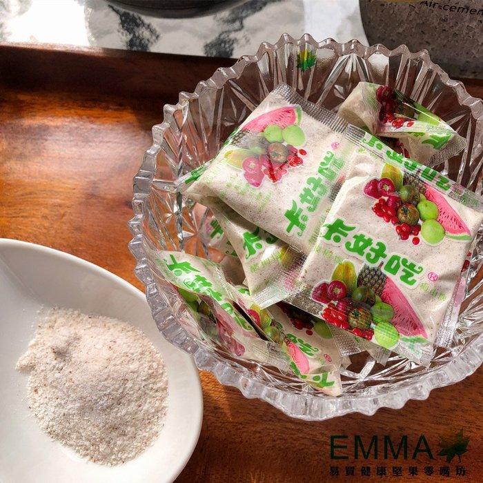 【卡好吃梅子粉】《EMMA易買健康堅果零嘴坊》水果良伴非梅子粉莫屬啦!只要沾一點點就超涮嘴的唷!