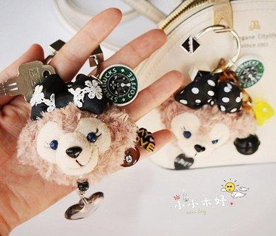 ☀小小木妤╭❀ 日本迪士尼✏duffy 達菲熊 雪莉玫 ❤娃娃 玩偶 鑰匙圈 包包掛件 禮物/禮盒裝