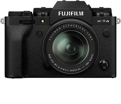 【高雄四海】Fujifilm X-T4 kit (XF18-55mm).全新平輸一年保固.4K錄影 5軸防震 XT4
