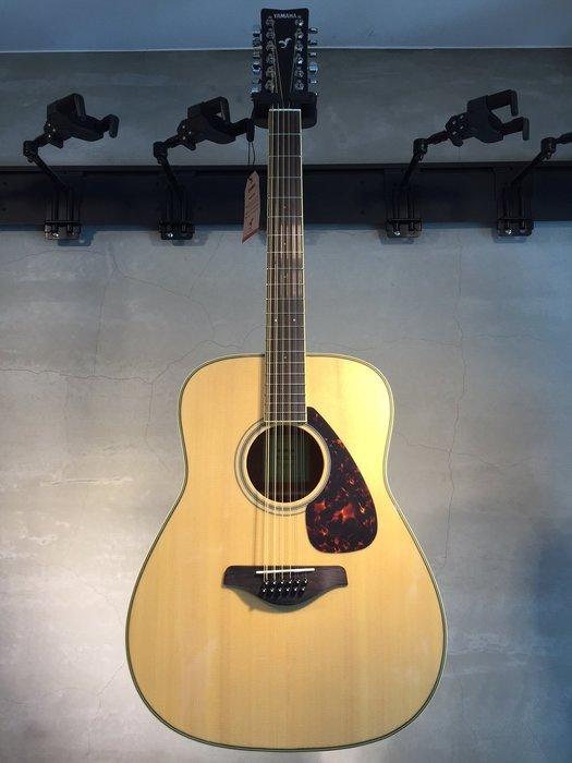 【六絃樂器】全新 Yamaha FG820-12 12弦民謠吉他 / 現貨特價