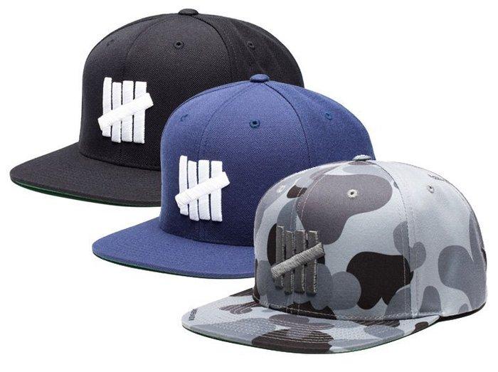 【超搶手】 全新正品 最新UNDEFEATED 5 STRIKE HO15 SNAPBACK CAP 柵欄 棒球帽 3色