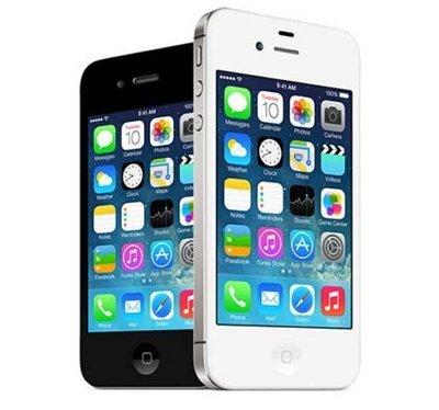 免運+送行動電源+保護套+鋼化膜 APPLE IPHONE 4S 8G 16G 32G 800萬華素 黑白2色