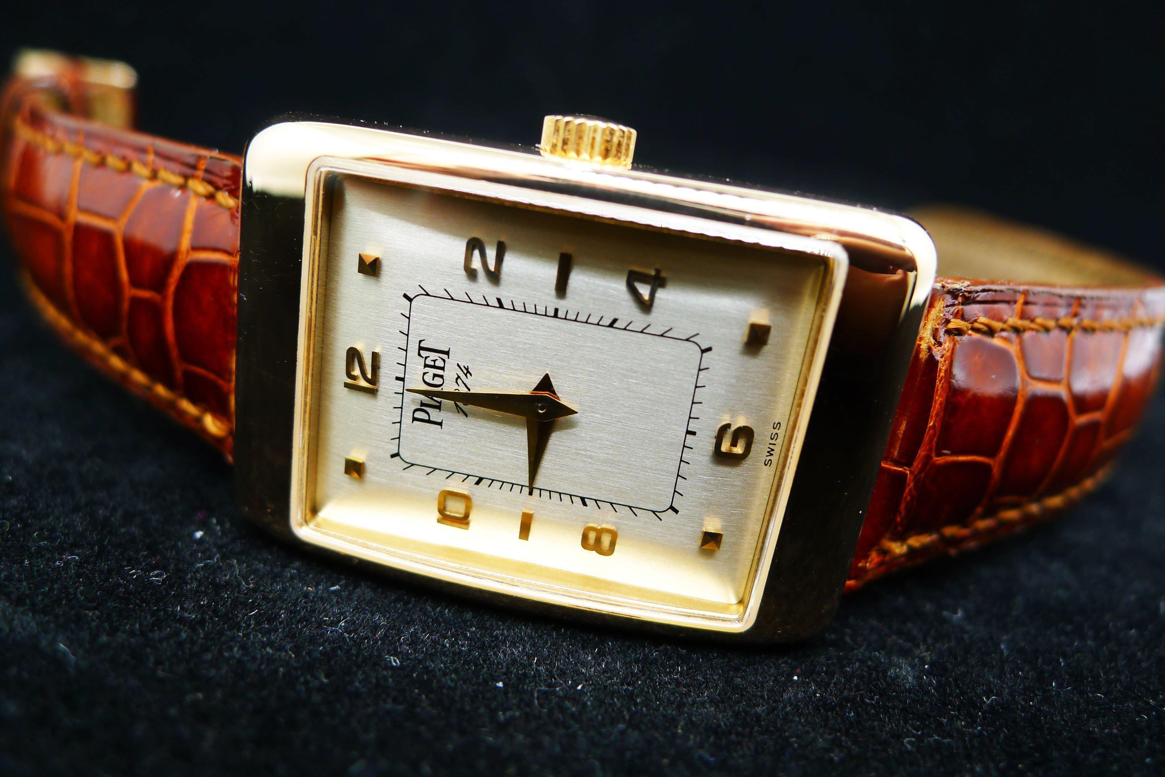 ♡甜心珠寶鐘錶♡伯爵 piaget Rectangle A LAncienne 系列腕錶[實體店面,安心選購]