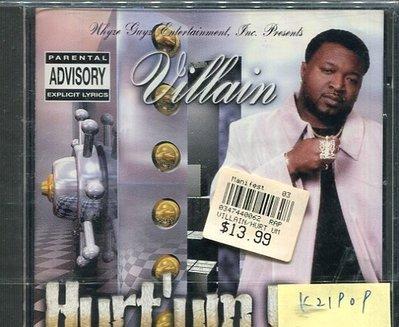 *真音樂* VILLAIN-HURT'UM BAD 全新 K21909
