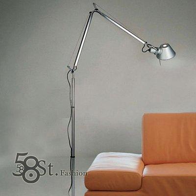 【58街-高雄館】義大利設計師款式「稻草人雙節落地燈」。複刻版。GU-082