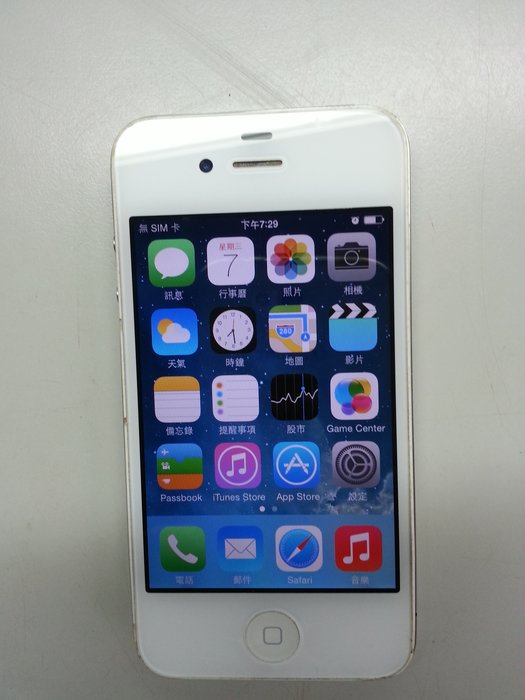 iPhone 4 16G A1332 白色 功能正常