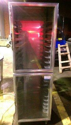 達慶餐飲設備 八里倉庫 二手設備 密閉式出爐架可當發酵箱