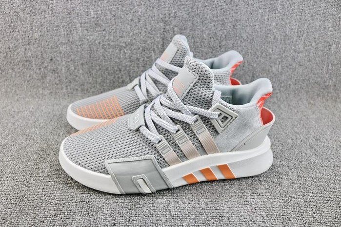 Adidas EQT BASK ADV 灰桔 經典 編織 休閒運動慢跑鞋 男女鞋 AC7351