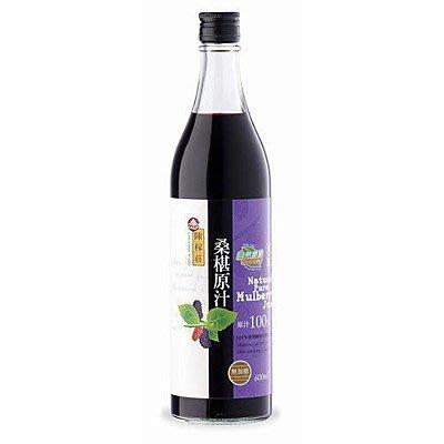 陳稼莊 天然無糖桑椹汁 原汁 (600...