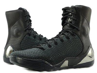 =CodE= NIKE KOBE IX HIGH KRM EXT QS 蟒蛇紋皮革籃球鞋(黑)716993-001 預購
