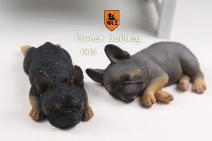 ✤ 修a玩具精品 ✤ ☾精緻盒玩☽ MR.Z 在睡覺的 法國鬥牛犬 法鬥 休眠中 超可愛