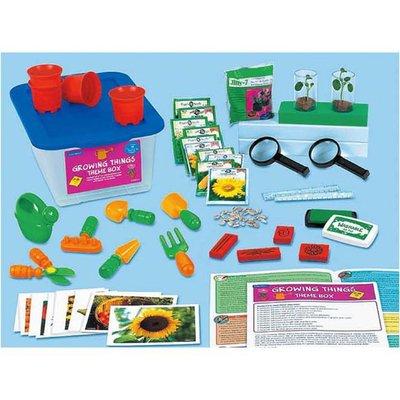 【晴晴百寶盒】美國進口 主題教學2-生長 LAKESHORE 尋寶遊戲感統教具益智遊戲環保無毒玩具遊戲感官W312