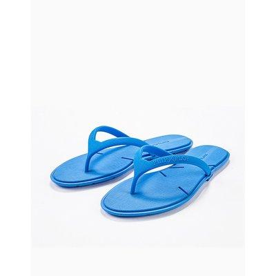 女孩必備新奇小物!劈哩啪啦PLIP PLOP (藍色) 人字拖鞋 PPF1322700108 商品出清優惠價 天然橡膠材