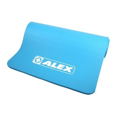 ALEX 運動地墊10mm(圓角) (瑜珈墊 塑身 止滑墊 附收納袋【99301345】≡排汗專家≡