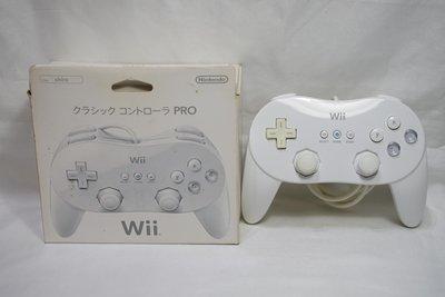 日本原廠 Wii 傳統手把Pro 盒裝