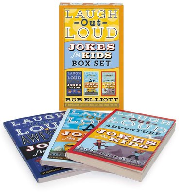 笑爆肚子的笑話(3冊盒裝)Laugh-Out-Loud Jokes For Kids 3-Book Box Set:Aw
