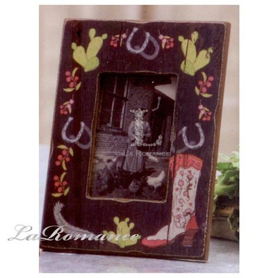 【Creative Home】Heart & Home 心戀家居系列長靴木製相框 B (仙人掌款)